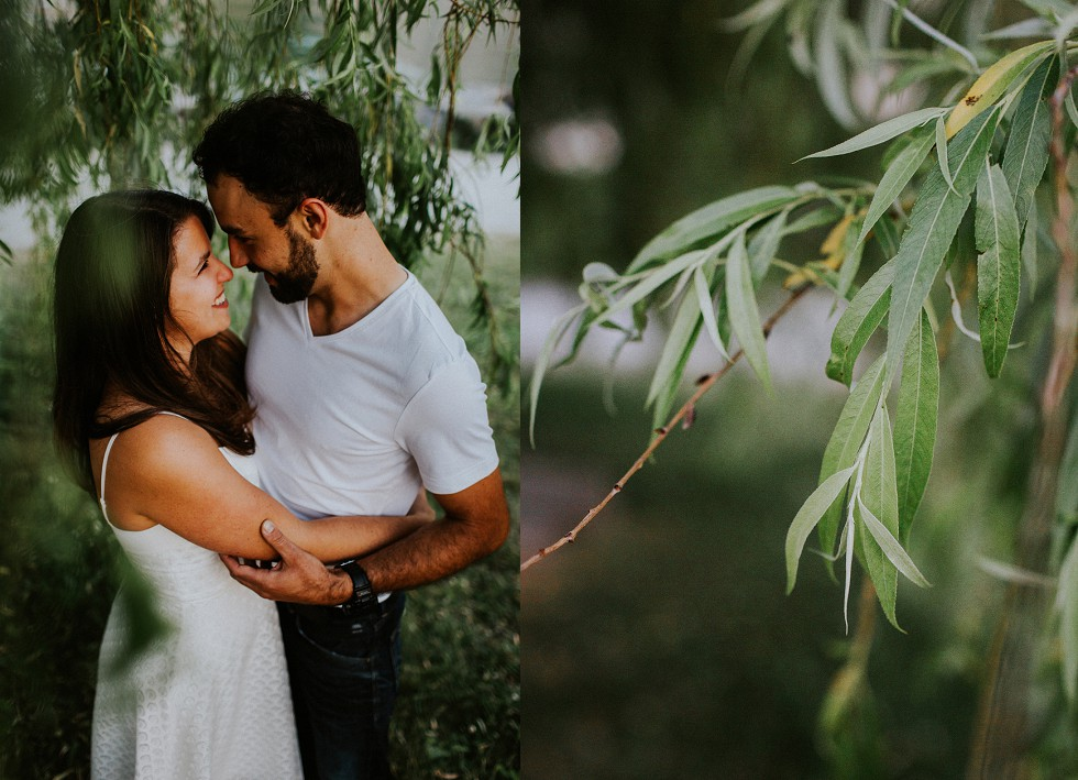 cute couple engagement session