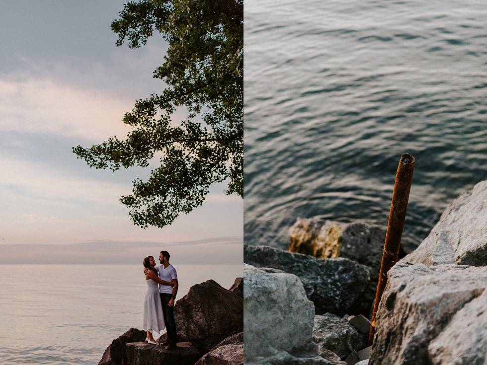 toronto bluffs engagement session