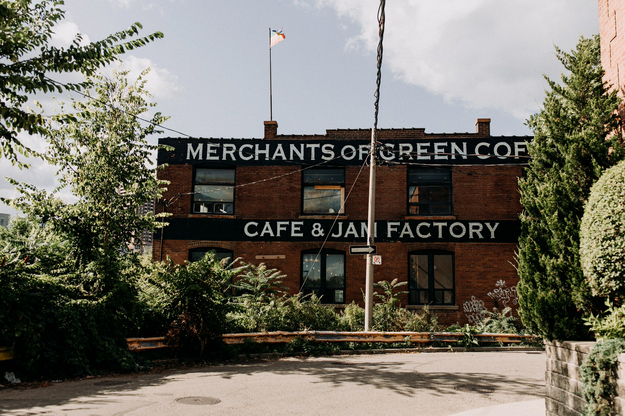 Merchants of Green Coffee Wedding - Jam factory Wedding