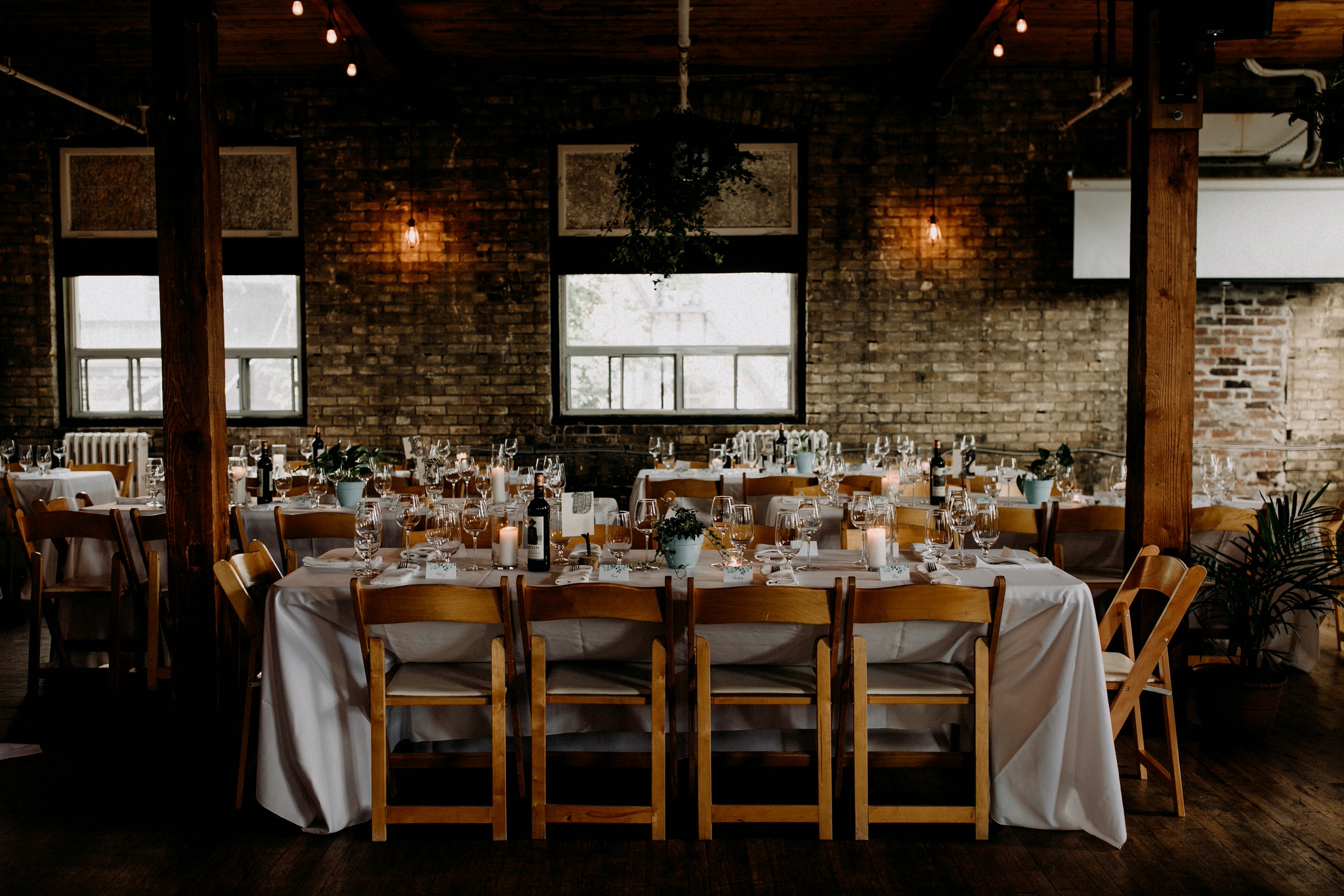 Merchants of Green Coffee Wedding - Jam Factory Reception