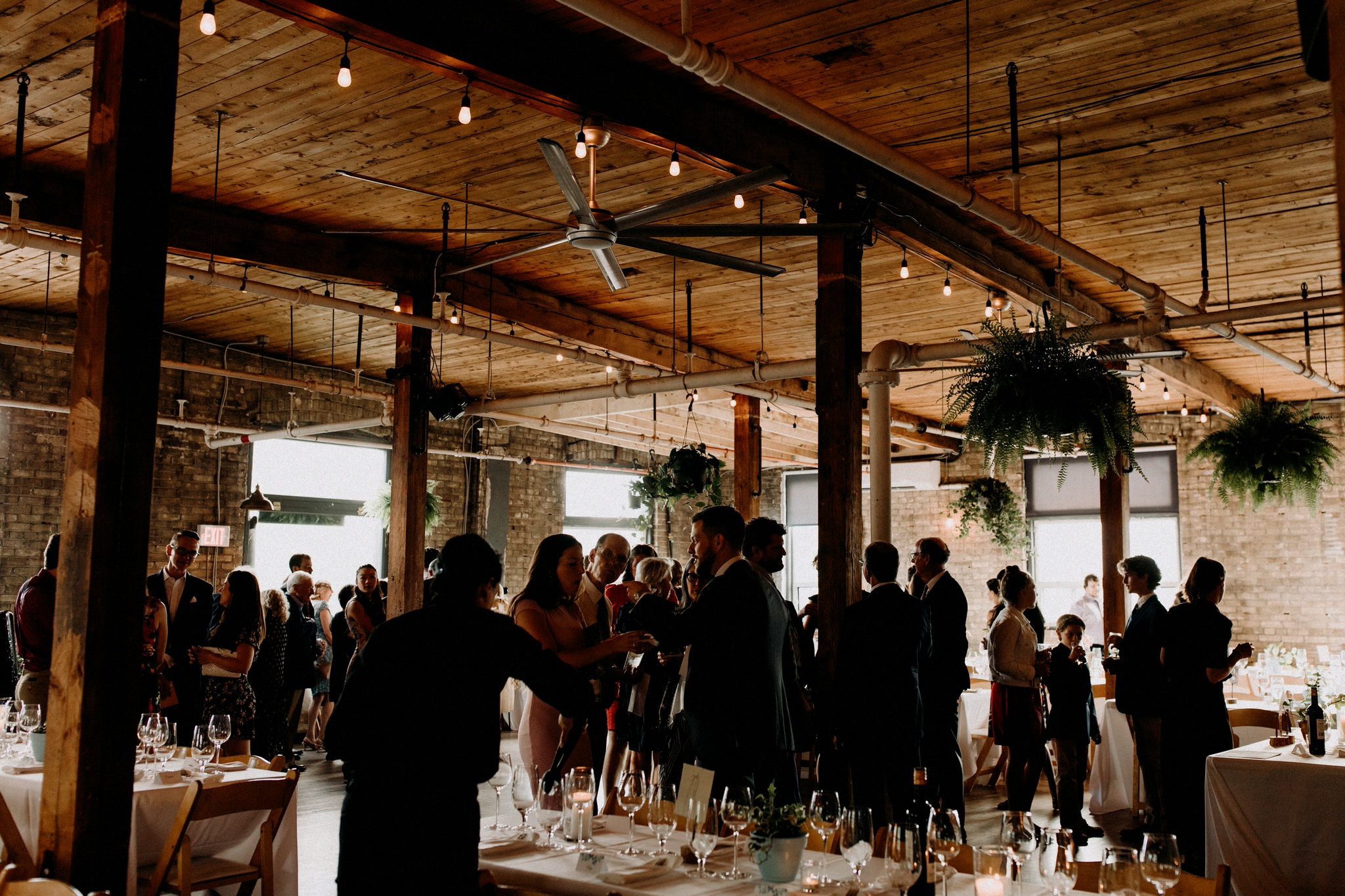 Merchants of Green Coffee Wedding - Jam Factory Wedding Reception