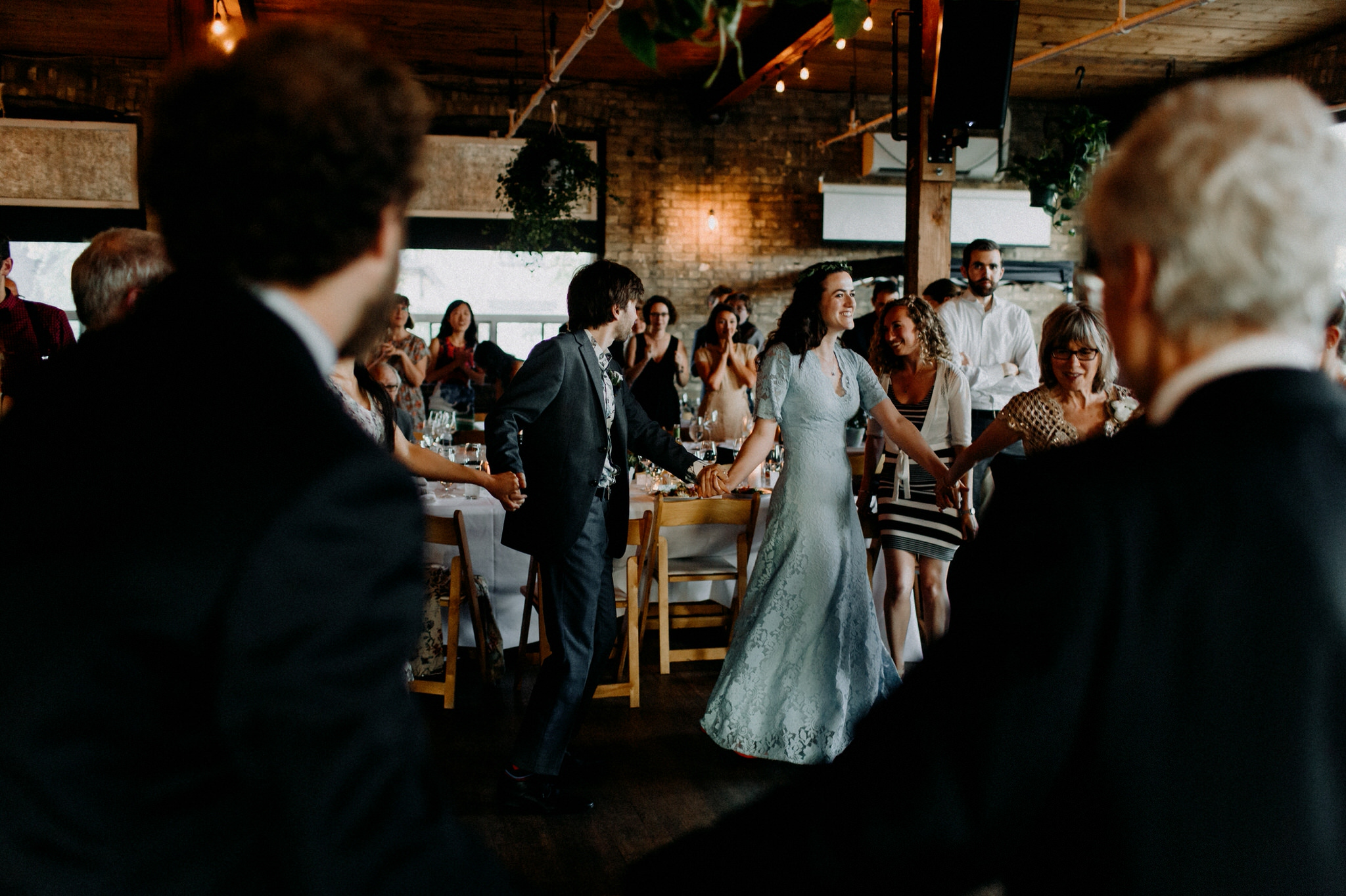 Merchants of Green Coffee Wedding - horah circle