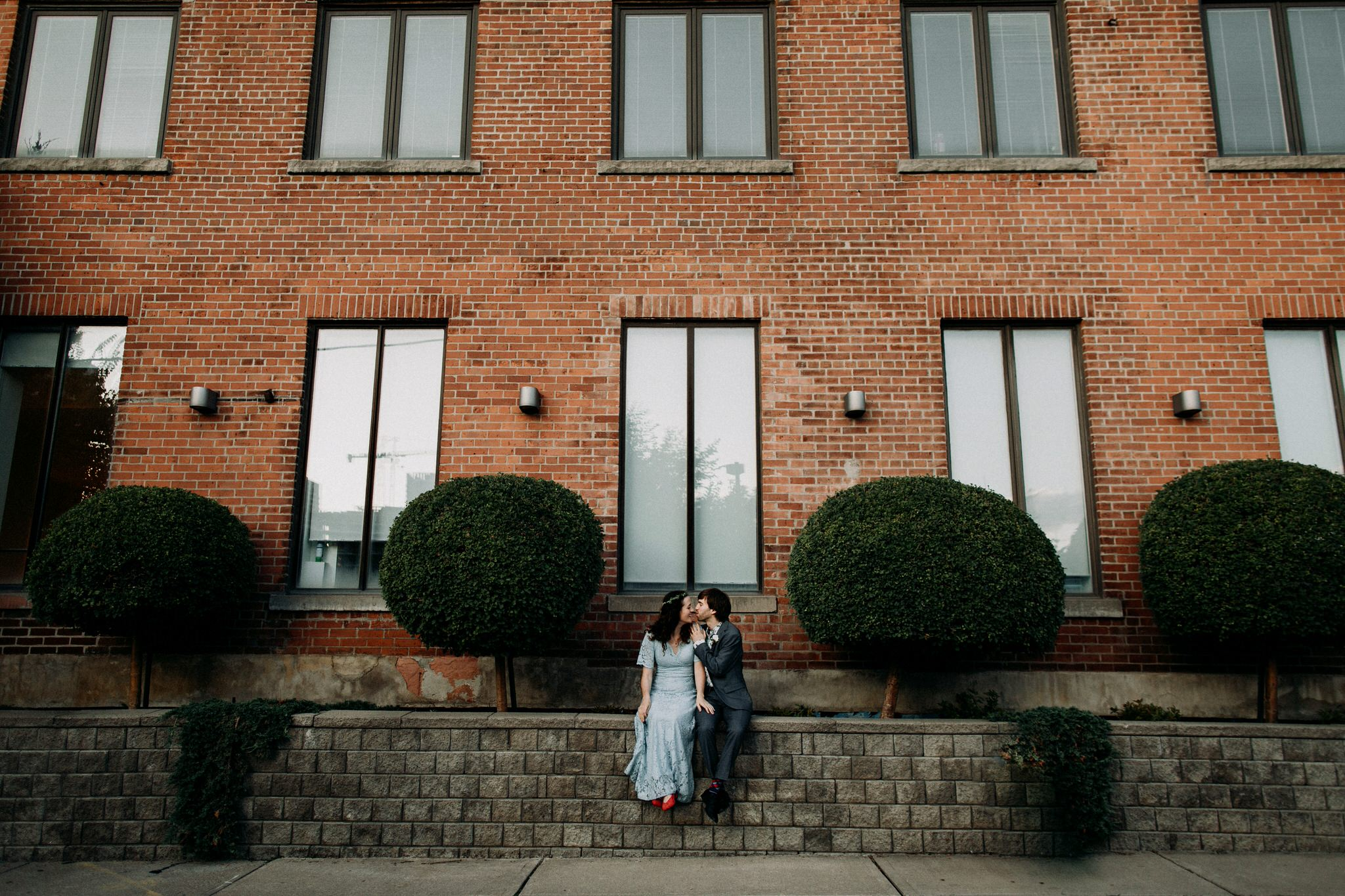 Merchants of Green Coffee Wedding - outdoor portraits
