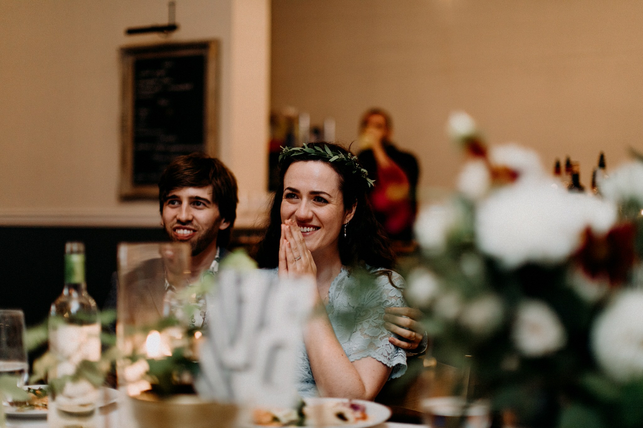 Merchants of Green Coffee Wedding - namaste